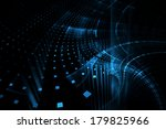 abstract business science or... | Shutterstock . vector #179825966