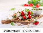 Caprese Salad Mozzarella  Basil ...