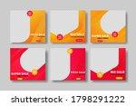 mega sale banner template...   Shutterstock .eps vector #1798291222