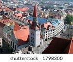 an overview of munich  germany | Shutterstock . vector #1798300