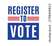 Register To Vote. Vote 2020 ...