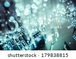 connectivity.fiber optic cables ... | Shutterstock . vector #179838815