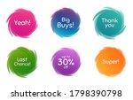 swirl motion circles. super  30 ... | Shutterstock .eps vector #1798390798