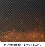 sparkes vector effect. overlay... | Shutterstock .eps vector #1798411342