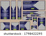 set of web banners vector  the... | Shutterstock .eps vector #1798422295