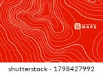 abstract stylized topographic... | Shutterstock .eps vector #1798427992