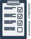 training plan tablet icon. flat ...