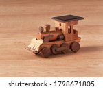 Wooden Hand Crafted Locomotive...