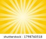 sunlight rays horizontal... | Shutterstock .eps vector #1798760518