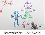 Kids Stick Figure