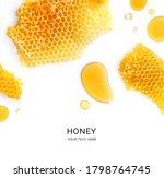 Creative Layout Made Of Honey...