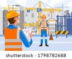 professional worker working on... | Shutterstock .eps vector #1798782688