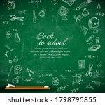 back to school vector... | Shutterstock .eps vector #1798795855