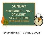 Daylight Savings Time...