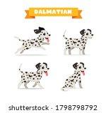 Cute Dalmatian Dog Animal Pet...
