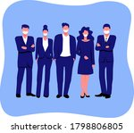 group of people. office worker. ...   Shutterstock .eps vector #1798806805