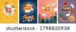 happy  hinese mid autumn... | Shutterstock .eps vector #1798820938