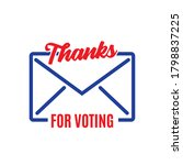 thanks for voting envelope icon ...