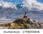 The Maitreya Buddha Statue With ...