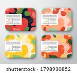 bath care cosmetics boxes set.... | Shutterstock .eps vector #1798930852