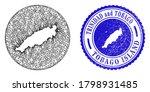 mesh subtracted round tobago... | Shutterstock .eps vector #1798931485