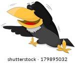 cute cartoon laughing vector...