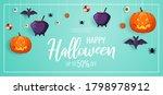 happy halloween promo sale... | Shutterstock .eps vector #1798978912
