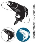 the figure shows the fish... | Shutterstock .eps vector #179904686