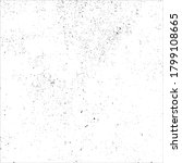 grunge black ink splats on... | Shutterstock .eps vector #1799108665