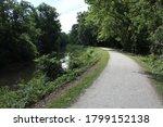 Tow Path Trail Along The Ohio...