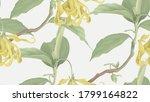 floral seamless pattern ... | Shutterstock .eps vector #1799164822