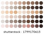 skin tones. beige palette....   Shutterstock .eps vector #1799170615