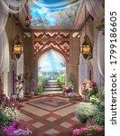 Beautiful Arabian Arch With...