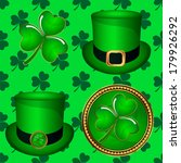 st patrick day hat plant | Shutterstock .eps vector #179926292