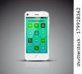 modern mobile phone design...