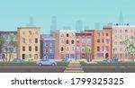 Ghetto Landscape Vector...