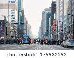 seoul  south korea   february... | Shutterstock . vector #179932592