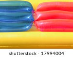 detail sight of an airbed. | Shutterstock . vector #17994004