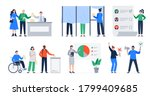 set of illustrations with the...   Shutterstock .eps vector #1799409685