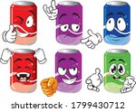 soda can. drink and beverage...   Shutterstock .eps vector #1799430712
