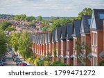 Row Of English Terraced Houses...