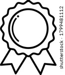 award  medal  winner  victory...   Shutterstock .eps vector #1799481112