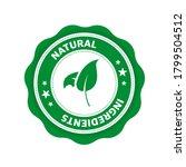 natural ingredients  great... | Shutterstock .eps vector #1799504512