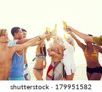 group of friends having a... | Shutterstock . vector #179951582