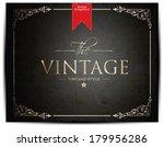 vintage background   Shutterstock .eps vector #179956286