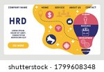 vector website design template .... | Shutterstock .eps vector #1799608348