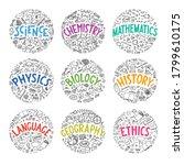 science  chemistry  mathematics ... | Shutterstock .eps vector #1799610175