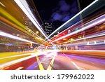 busy traffic in city | Shutterstock . vector #179962022