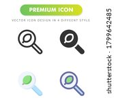 search icon isolated on white...