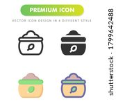 compost icon isolated on white...